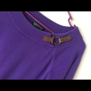 Ralph Lauren Light-Weight Sweater - Leather Buckle